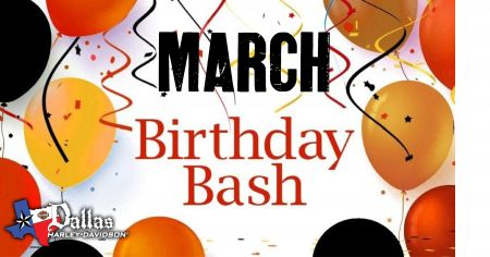 March Birthday Bash