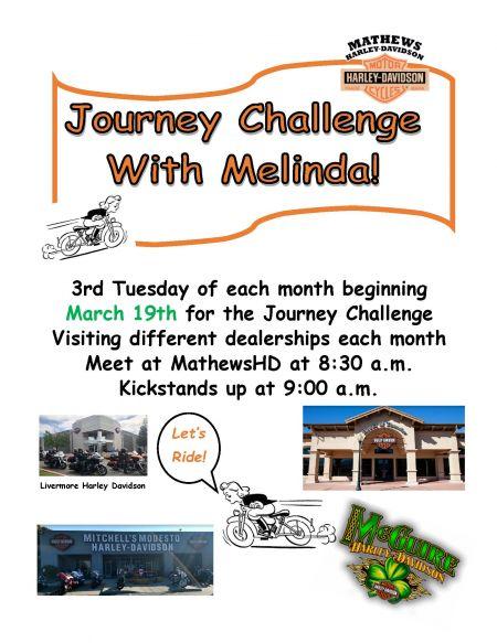 Journey Challenge w/ Melinda