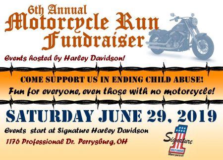 6th Annual Motorcycle Run