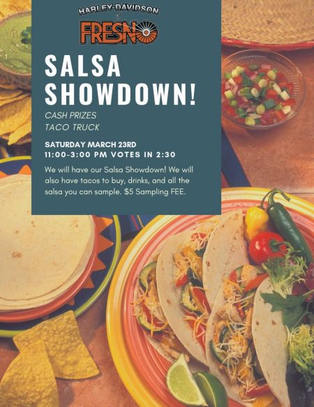 First Annual Salsa Showdown