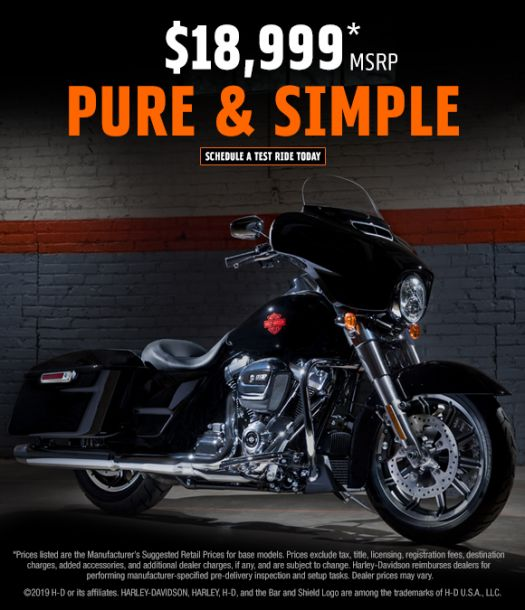 ELECTRA GLIDE® STANDARD A NEW STRIPPED-
