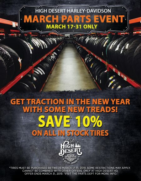 March Parts Event