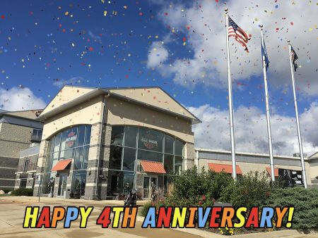 Happy 4th Anniversary to H-D of Madison!