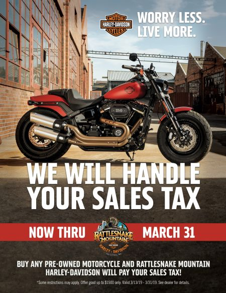 RMHD Will Pay Your Sales Tax
