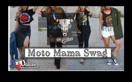 Moto Mama Swag T-shirt Cutting Workshop: