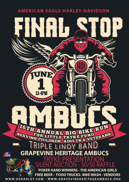 FINAL STOP - AMBUCS 16TH ANNUAL BIG BIKE RUN