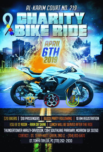 Al-Karim Court No 219 Charity Bike Ride