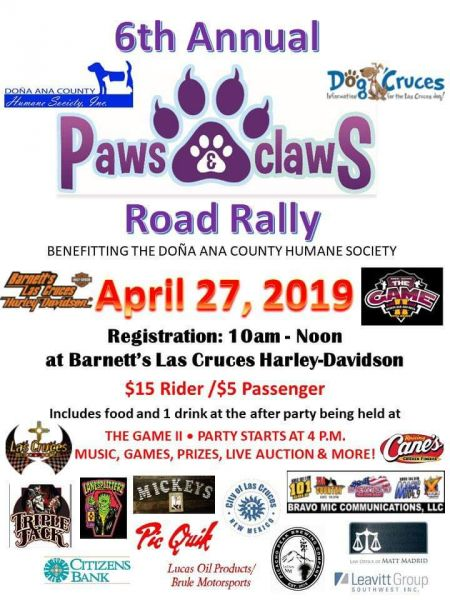 Paws 'n Claws Road Rally