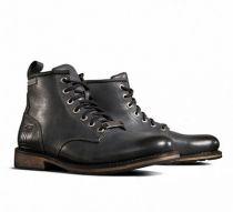 Harley-Davidson® Men's Darrol Black Leather Lifestyle Shoes