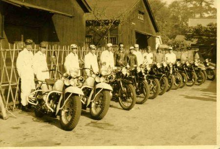 南東京チャプター x The Rikuyu-Man Ride ~安住神社(バイク神社)~