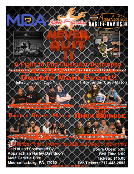 Never Quit II - Wrestling Event