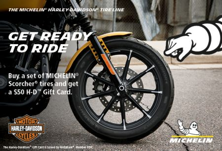 2019 SPRING MICHELIN® TIRE REBATE PROMOTION