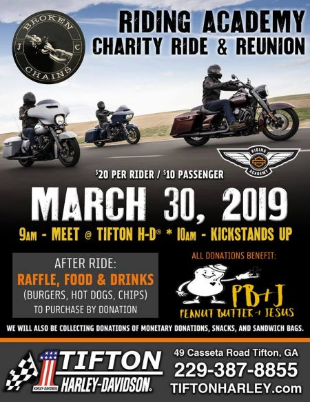 Riding Academy Charity Ride and Reunion!