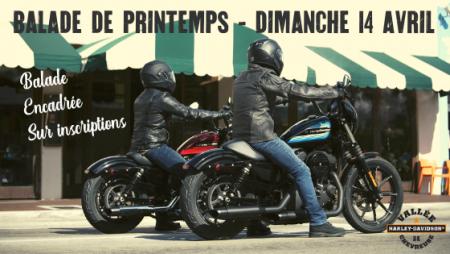Bloquez vos agendas ! La concession organise une virée en moto le 14 avril ! Ce sera l'occasion de découvrir H-D Chartres !