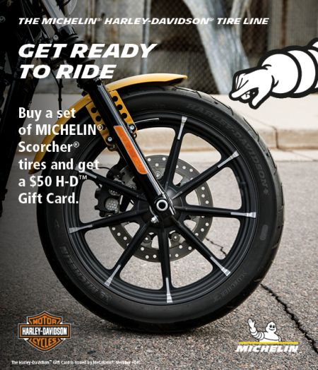Michelin Tire Promotion : Get Ready to Ride