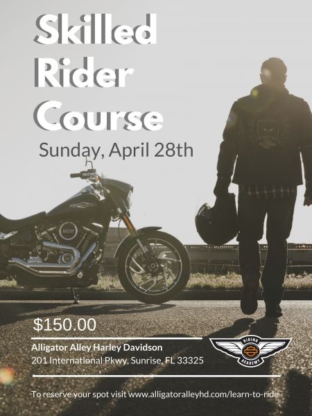 Skilled Rider Course