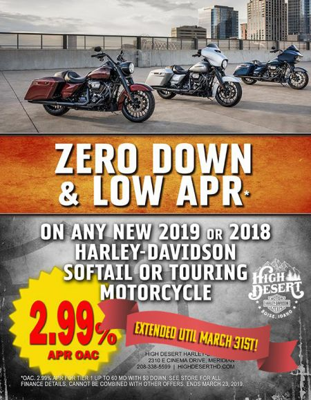 Zero Down & LOW APR*