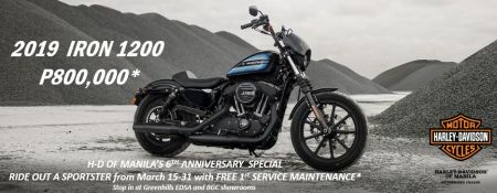 Harley-Davidson of Manila 6th Anniversary Sportster Special!