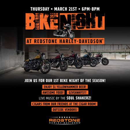 1st Bike Night of the Season!