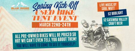 SPRING KICK OFF USED BIKE TENT EVENT!