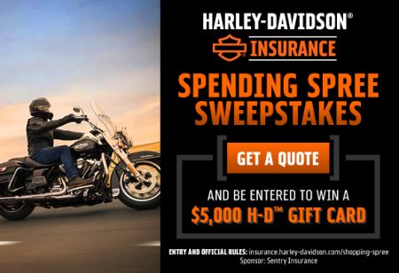 Harley-Davidson® Insurance Sweepstakes