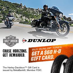 2019 Spring Dunlop ® Tire Rebate