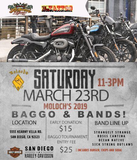 Moloch's Baggos & Bands Event!