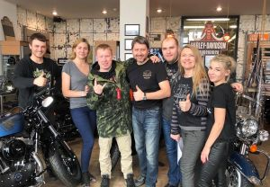 Антон Богданов в Harley-Davidson Новосибирск