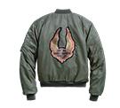 Womens 1903 Winged Logo Bomber Jacket
