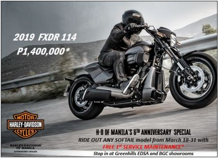 H-D of Manila's 6th Anniversary Softail Special