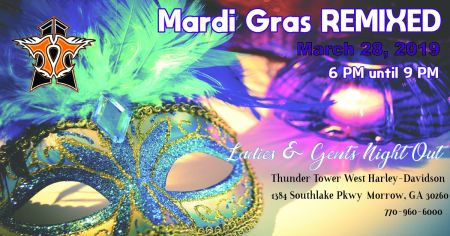 Mardi Gras REMIXED Ladies & Gents Night Out