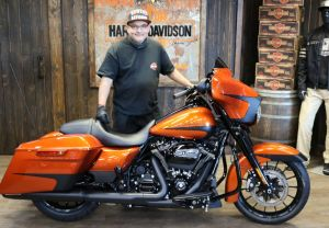 Carlos new Street Glide Special!