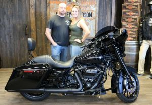 Justin and Christinas new Street Glide Special!