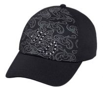Women's HD Rhinestone Embellished Baseball Cap
