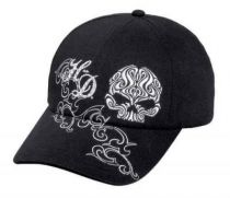 Scroll Willie G Skull Embellished Baseball Cap