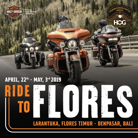RIDE TO FLORES