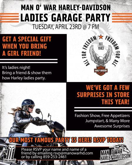 Ladies Garage Party
