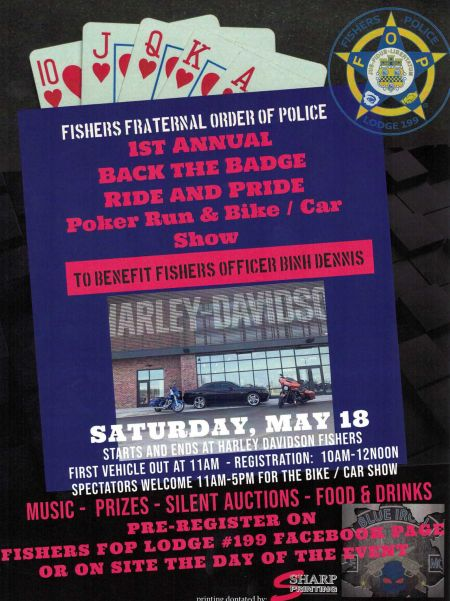 Back The Badge Poker Run