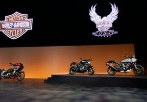 Презентация новых моделей мотоциклов Harley-Davidson в Сан-Диего 2018