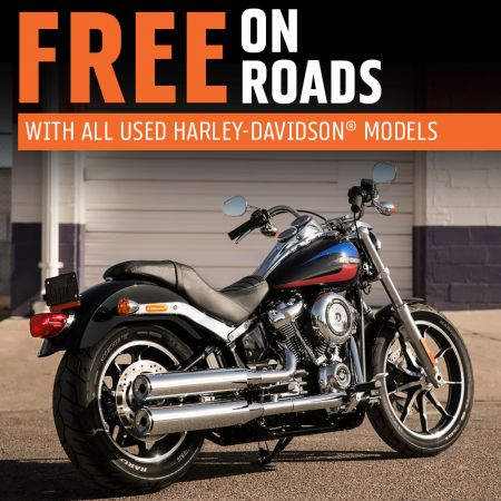 Free On-Roads For Used Harley-Davidson Models