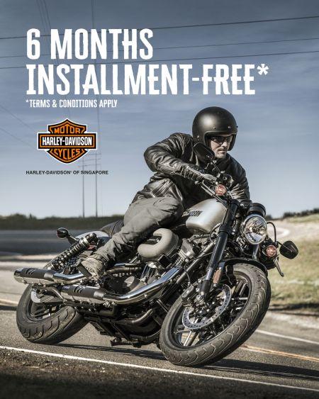 6 months installment-free!*