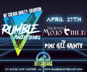 April Rumble Concert Series