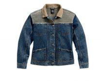 **SALE Ladies Black Label Leather&Denim Jacket  orig $150.00  50%OFF