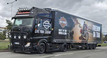 Testovací jízdy na Borských Polích - Harley on tour 2019