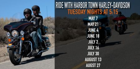 HTHD Tuesday Night Rides