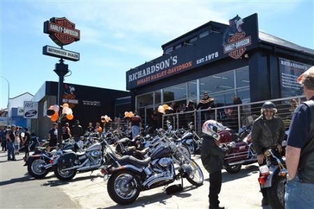 Richardson's Hobart Harley-Davidson Relocation