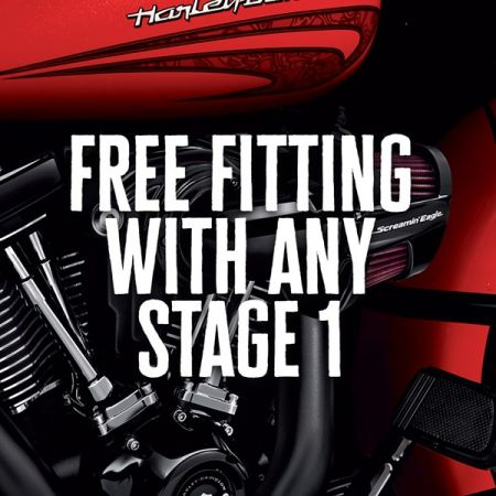 FREE FITTING WITH ANY  STAGE 1 THIS APRIL