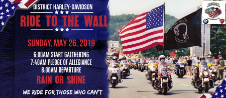Ride to the Wall 2019: Ride to Rolling Thunder