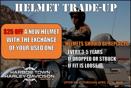 Helmet trade-up
