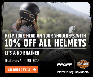 KEEP YOUR HEAD ON YOUR SHOULDERS WITH 10% OFF ALL HELMETS